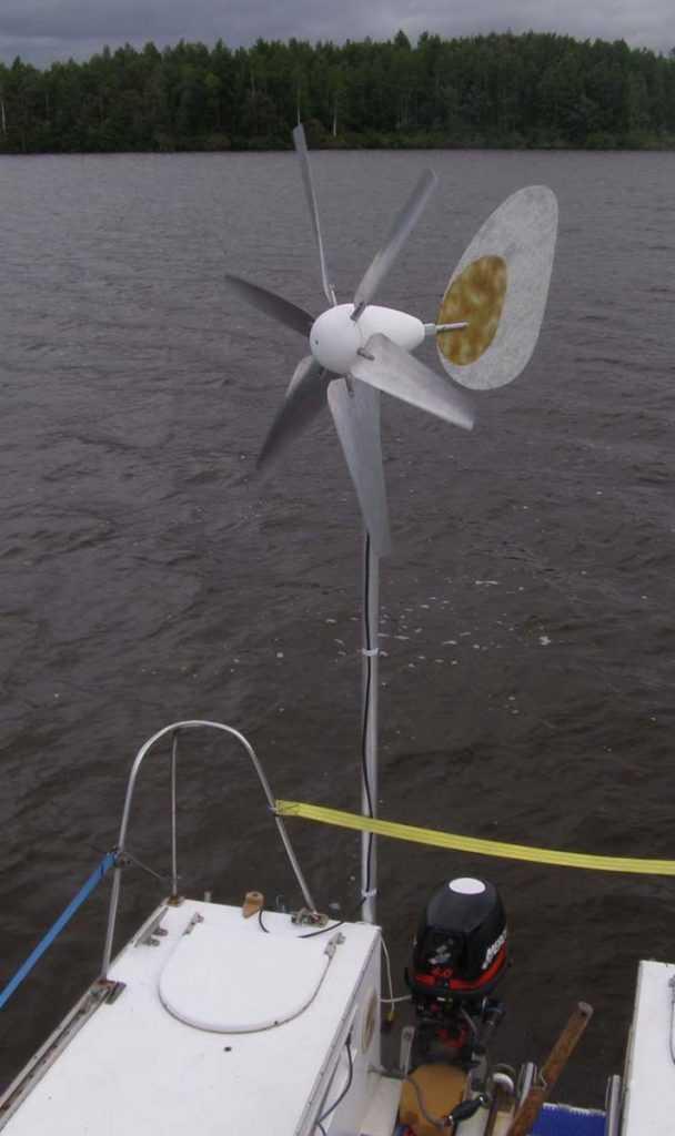 Ветрогенератор своими руками. из автомобильного генератора
