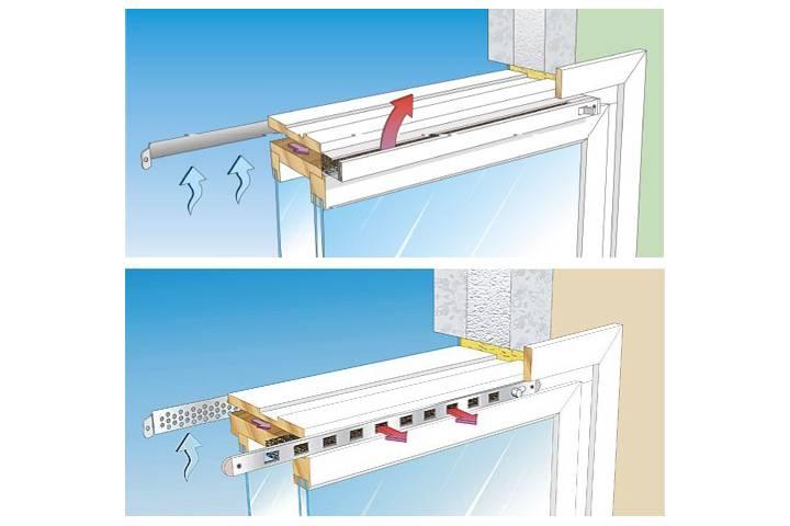 Рекомендации по изготовлению и монтажу приточного клапана в стену своими руками, плюсы и минусы