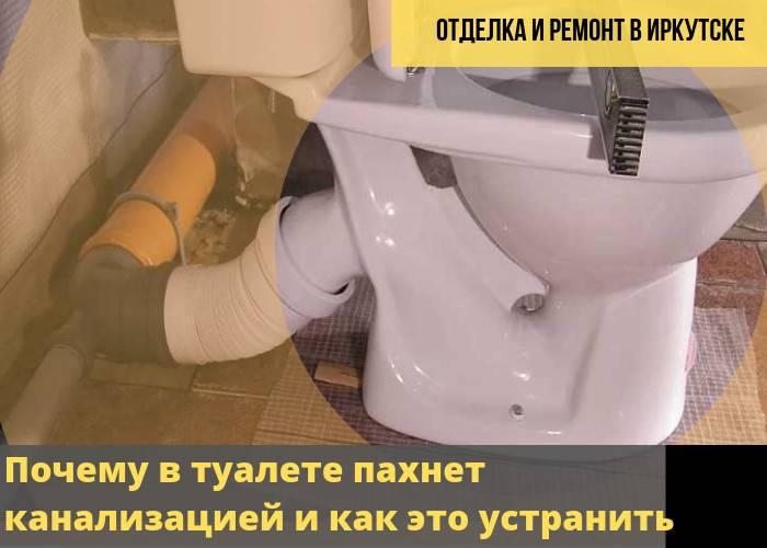 Как устранить запах канализации в квартире и частном доме