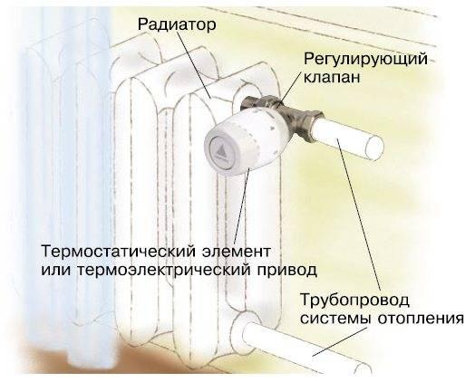 Терморегулятор для радиаторов отопления: особенности выбора и правила установки -