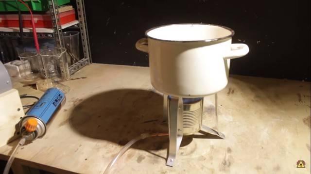 Газовая горелка своими руками для пайки — чертежи, фото и видео