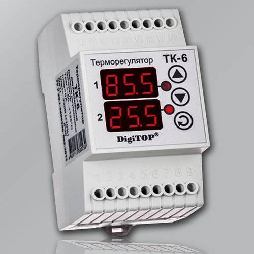 Терморегуляторы с датчиками температуры воздуха: разновидности