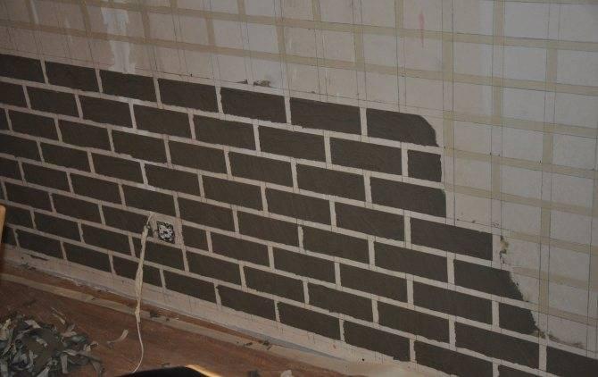 Имитация кирпичной стены своими руками — пошаговая инструкция от подготовительных до отделочных работ (120 фото) — строительный портал — strojka-gid.ru