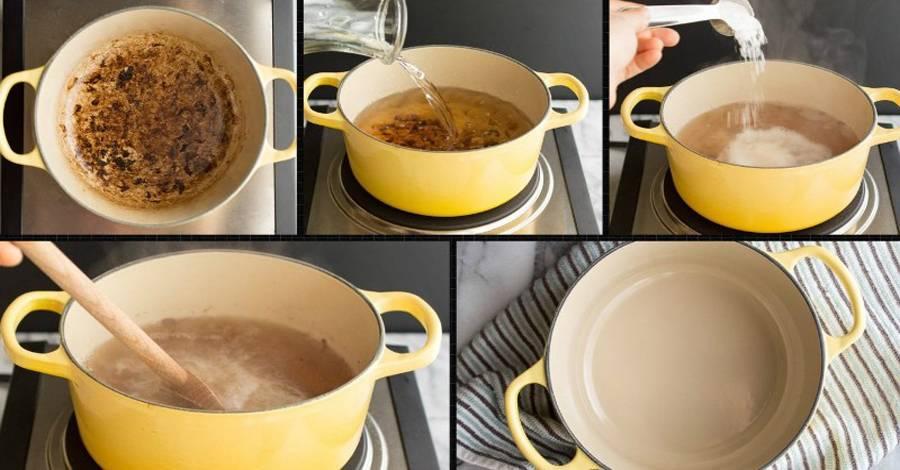 Как очистить пригоревшую кастрюлю из нержавейки, топ-8 способов