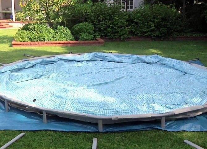 Пошаговая инструкция, как сделать бассейн на даче своими руками