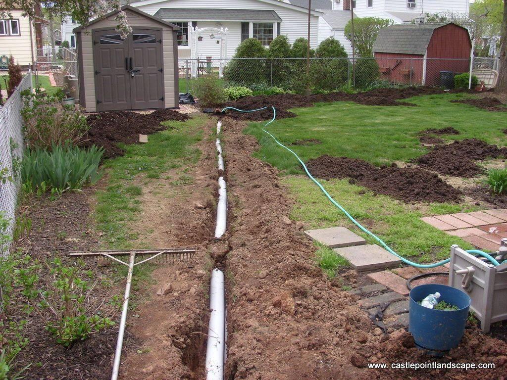 Дренаж на участке: устройство системы и особенности постройки своими руками. основные этапы работы и обзор вариантов отвода воды (145 фото)