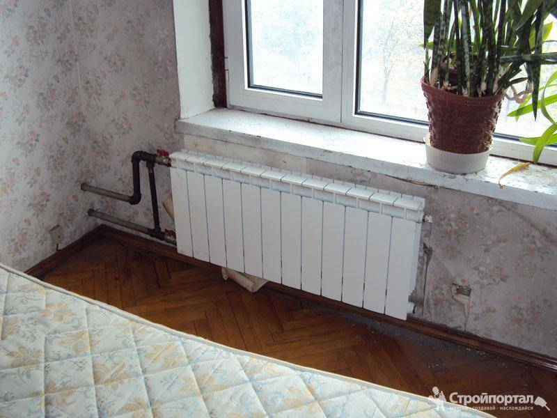 Замена батарей отопления в квартире: радиаторы и стоимость, сколько стоит установка