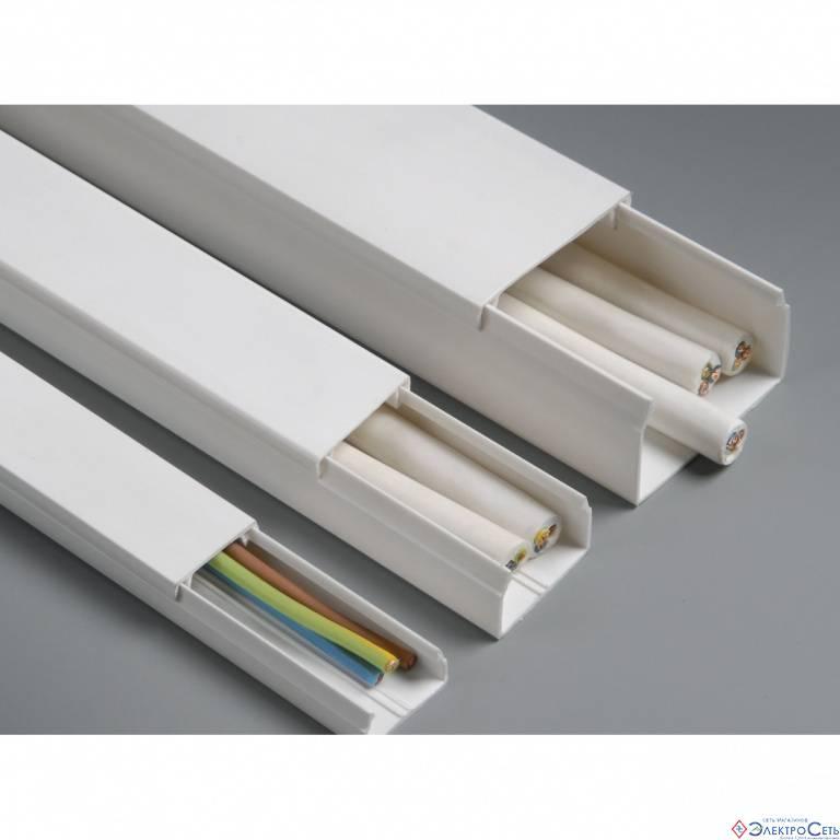 Короб пластиковый для кабеля и проводки: как выбрать размер и тип короба для монтажа проводки