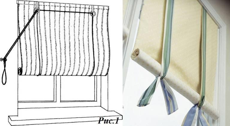 Рольшторы своими руками: 110 фото + пошаговая инструкция по созданию ролеты в домашних условиях