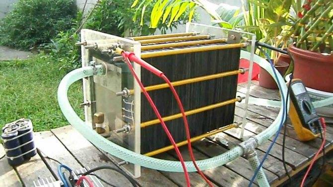 Водородный генератор своими руками для отопления - как сделать?
