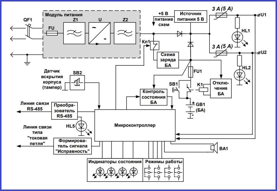 Схема бесперебойника (ибп) для компьютера, а также ремонт и как зарядить
