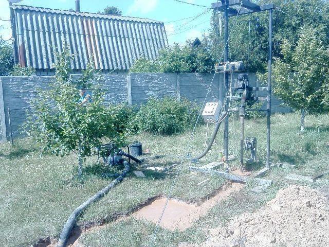 Гидробурение скважин на воду своими руками: особенности процесса