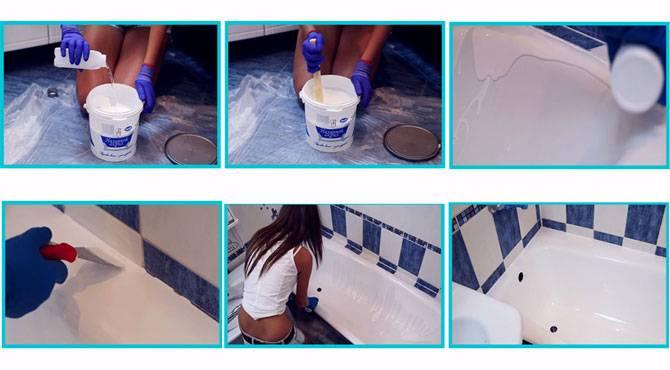 Краска для чугунной ванны: как выбрать материалы   в мире краски