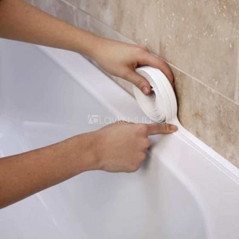 Керамический бордюр для ванной: выбор клеящего состава и инструкция по монтажу