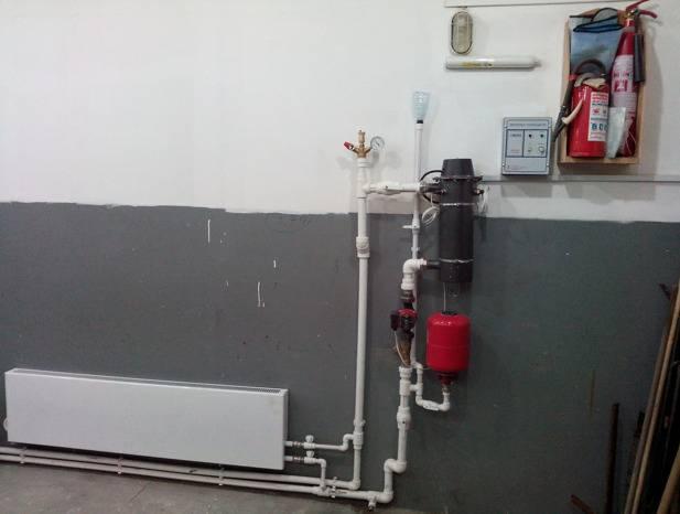 Отопление гаража: самый экономный способ из возможных вариантов