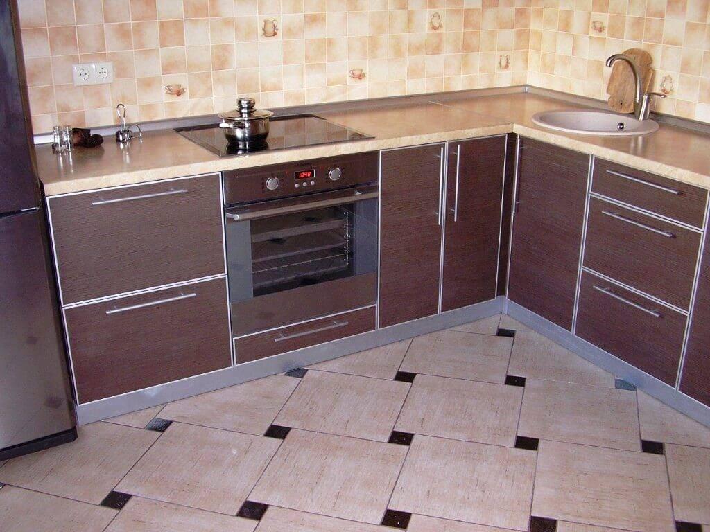 Напольное покрытие для кухни что выбрать: виды и характеристики