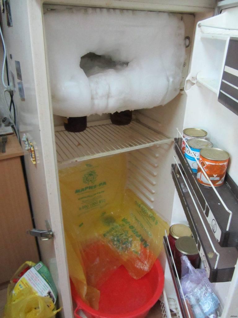 Как правильно и быстро разморозить холодильник, морозильную камеру: инструкция. как часто нужно размораживать холодильник? можно ли и как размораживать холодильник феном, горячей водой? холодильник, к
