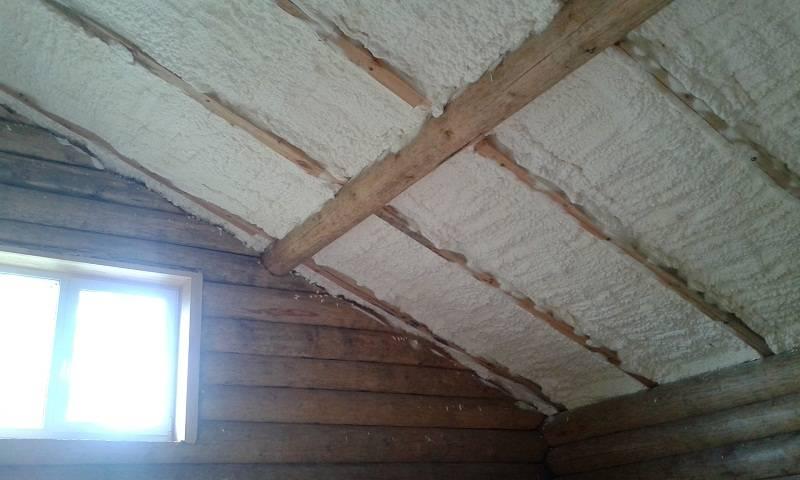 Утепление потолка в частном доме — важный шаг для снижения теплопотерь