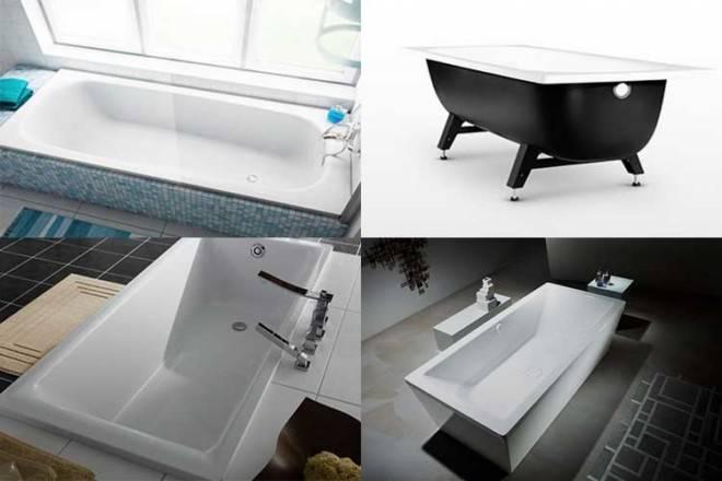 10 лучших акриловых ванн