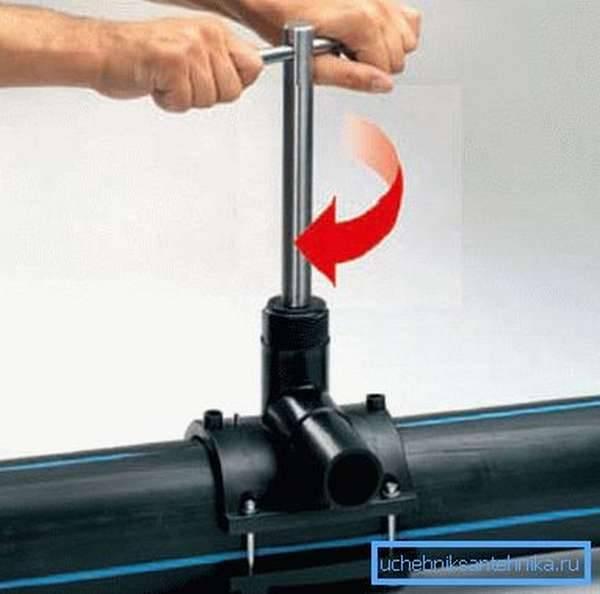 Холодная врезка в трубопровод под давлением. как выполняется врезка в газовую трубу – пошаговое руководство холодная врезка в трубопровод технология