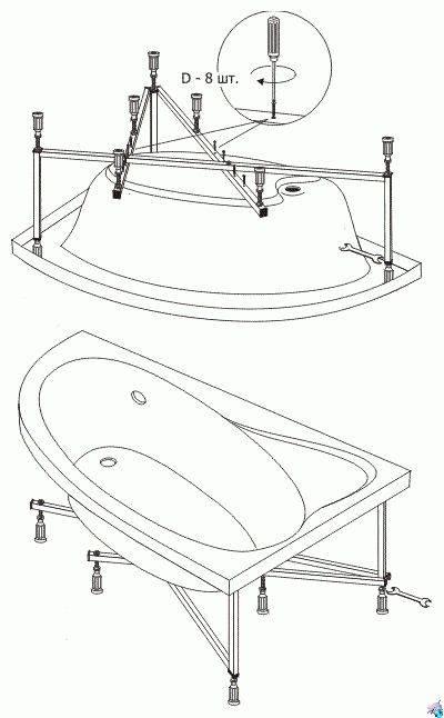 Установка сантехники своими руками: классические схемы разводки и инструкции по монтажу