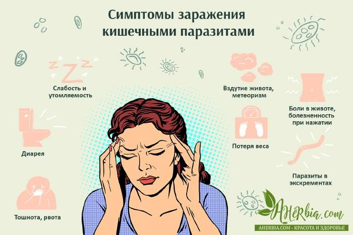 9 неявных признаков, что внутри вас живут паразиты