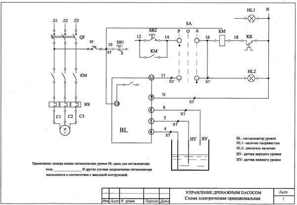 Шкаф управления насосами — виды, схемы подключения, обзор популярных моделей