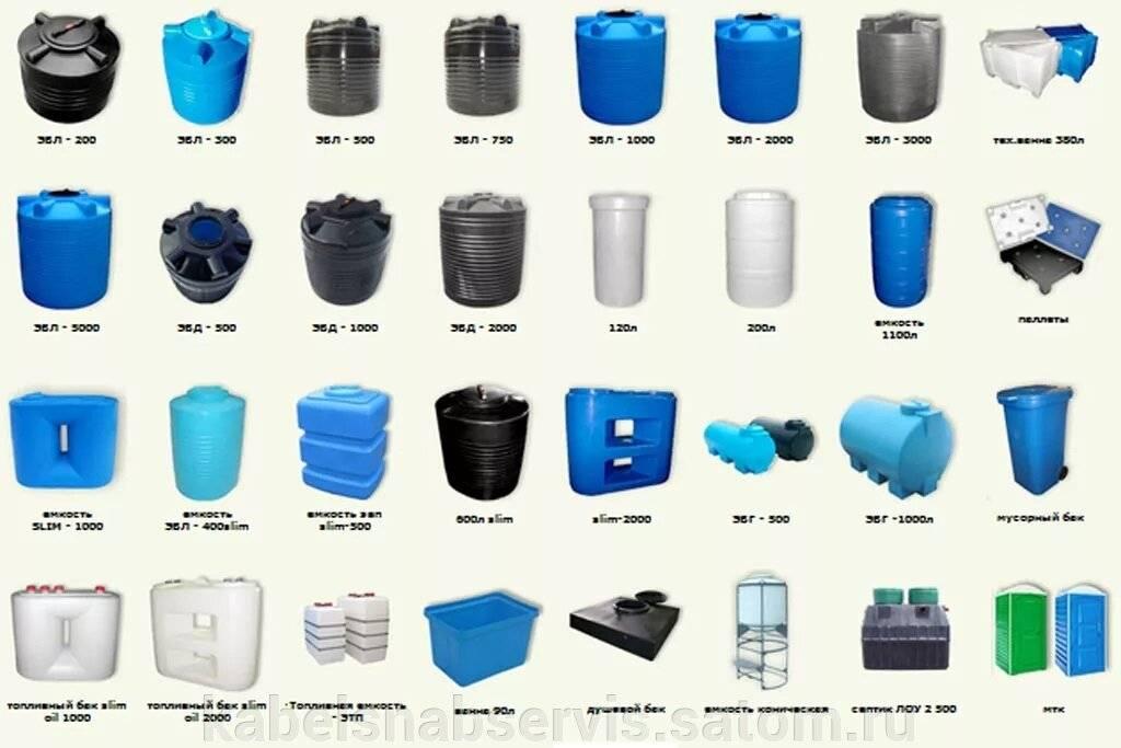 Виды пластиковых емкостей для канализации: инструкция по выбору / накопительные емкости / канлизация / публикации / санитарно-технические работы