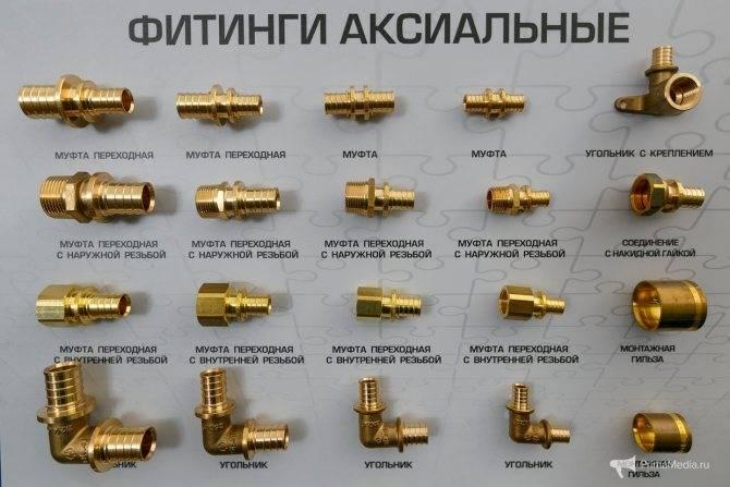 Фитинги для металлопластиковых труб — виды, как производить соединение