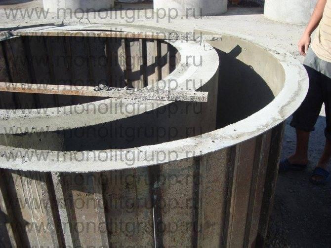 Оборудование для производства бетонных колец: особенности кессонов