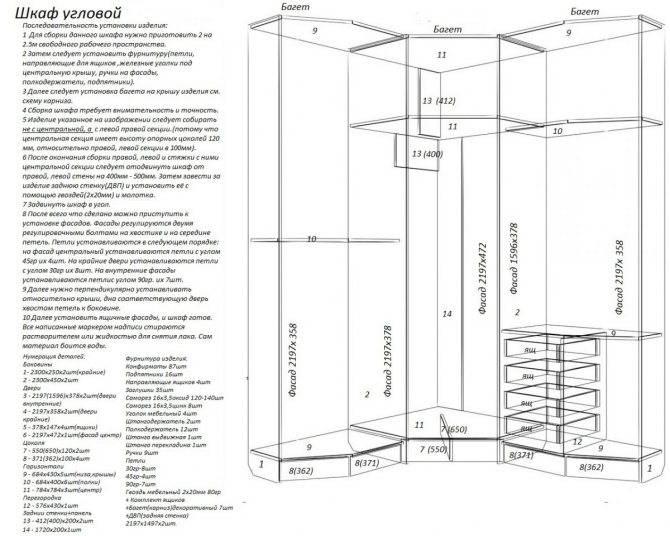 Делаем шкаф-купе самостоятельно от проекта до сборки своими руками - сделай сам - медиаплатформа миртесен