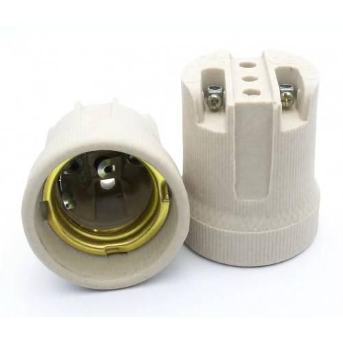 Патрон для лампочки: принцип устройства, виды и правила подключения
