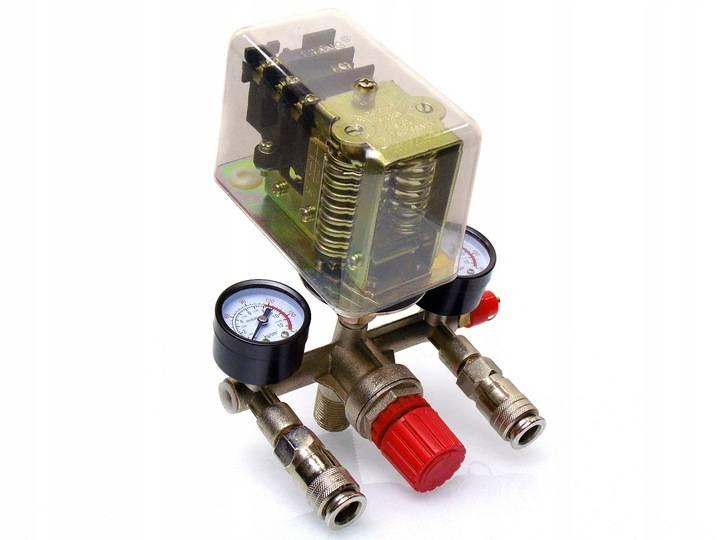 Прессостат для компрессора: самостоятельное подключение и настройка