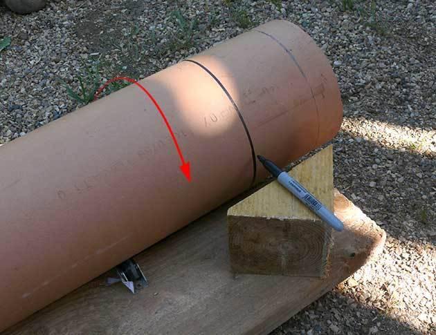 Как сделать срез трубы под углом - booktube.ru