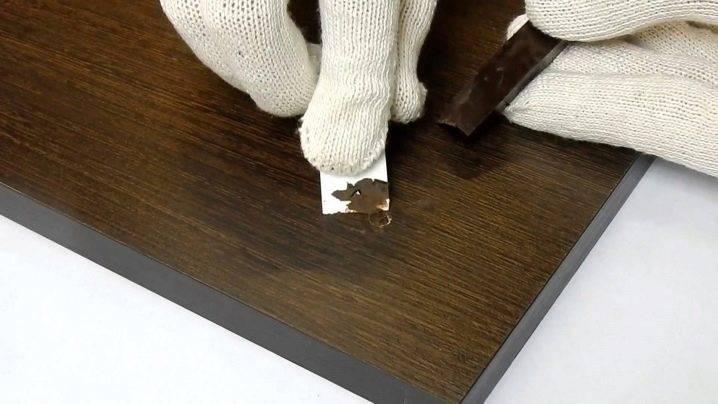 Устранение царапин на мебели в домашних условиях