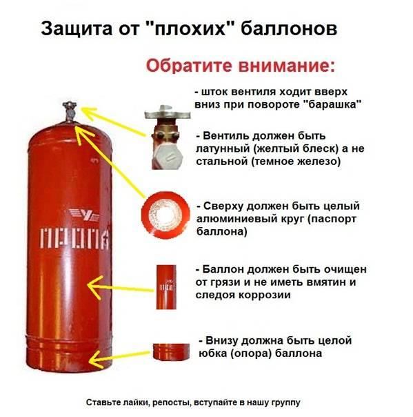 Почему сжиженные и сжатые газы хранят в баллонах? виды емкостей + правила эксплуатации