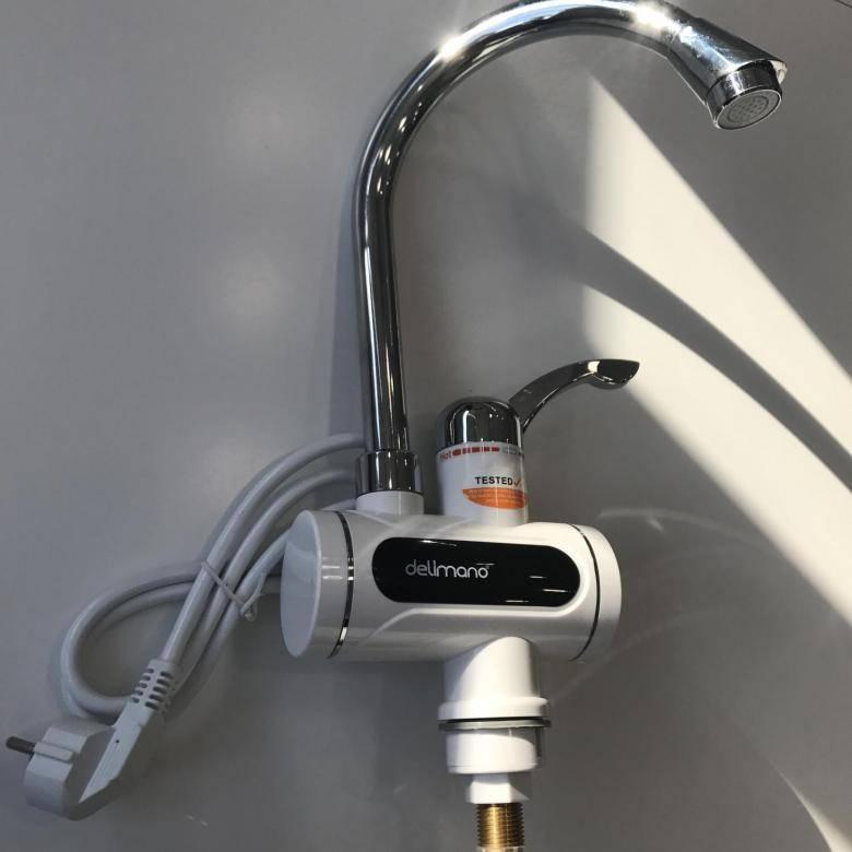 Проточный электрический водонагреватель на кран: виды, как выбрать правильно