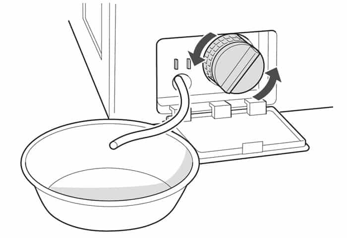 5 причин, почему не сливается вода со стиралки — как слить вручную