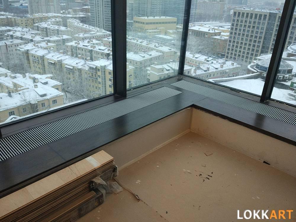 Конвекторы отопления водяные встраиваемые в подоконник. встраиваемые в пол и подоконники конвекторы для квартиры и дома