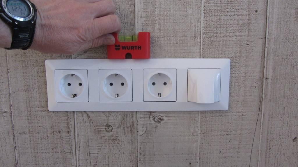 Монтаж и подключение электрических розеток своими руками