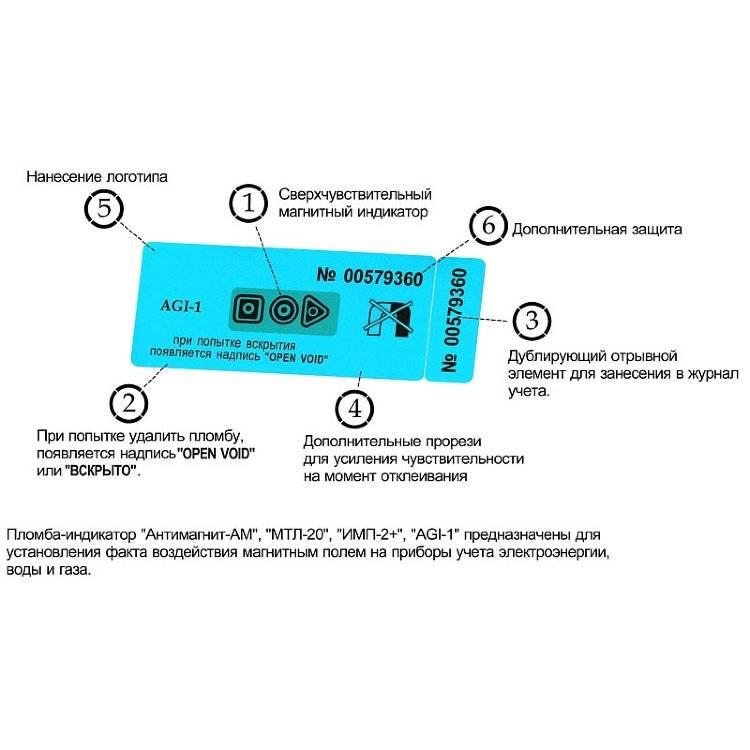Антимагнитная пломба на электросчетчик: принцип действия и специфика использования