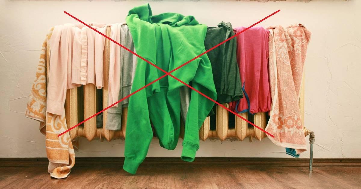 Советы и рекомендации, как быстро высушить одежду после стирки