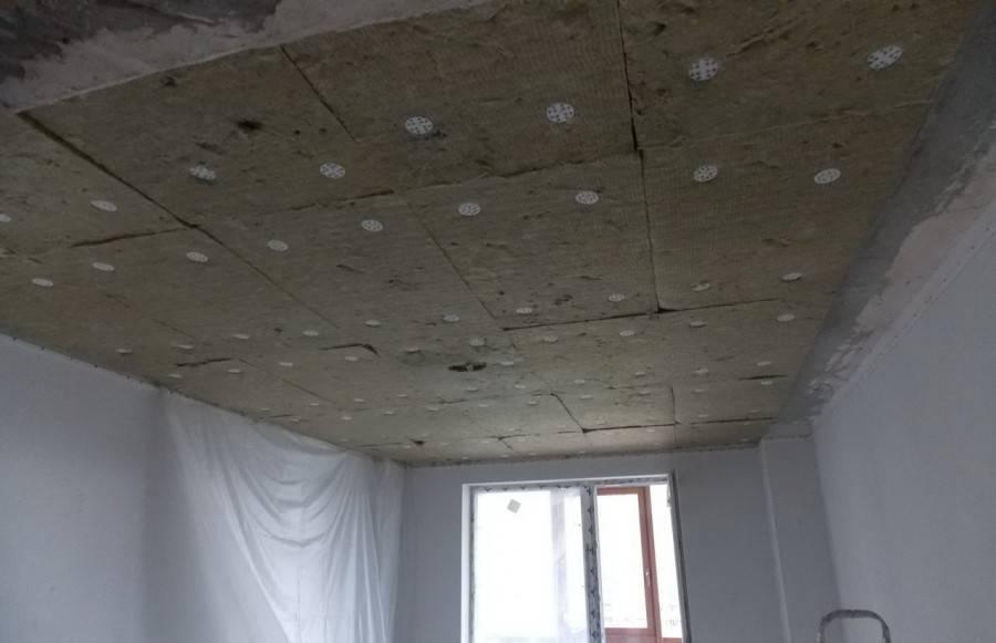Устройство звукоизоляции под натяжным потолком: какие шумопоглотители лучше всего подходят для монтажа в квартире | ремонтсами! | информационный портал