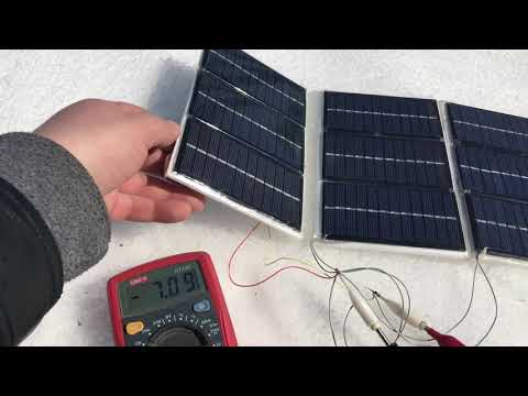 Как сделать солнечные батареи своими руками