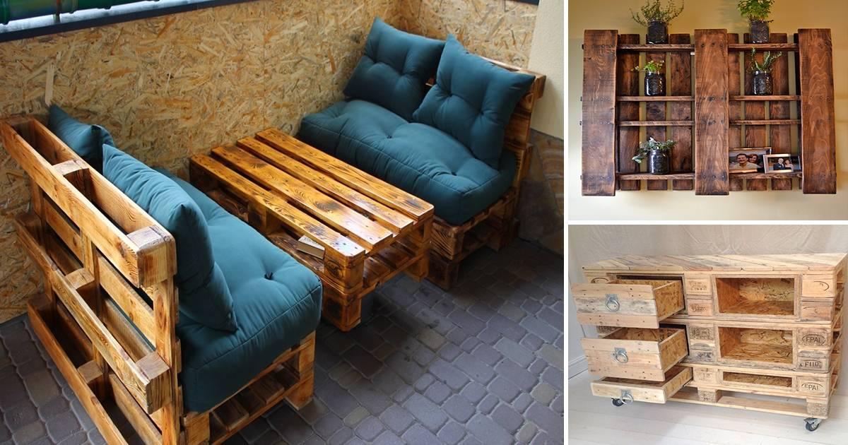 Мебель из поддонов своими руками (140 фото) — поэтапный мастер-класс со схемами и чертежами, идеи дизайна