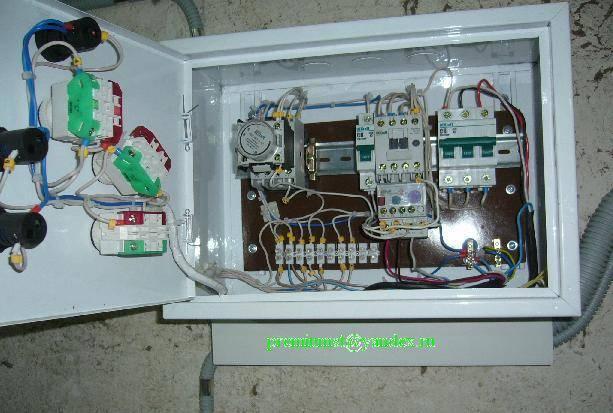 Как собрать щит управления вентиляцией