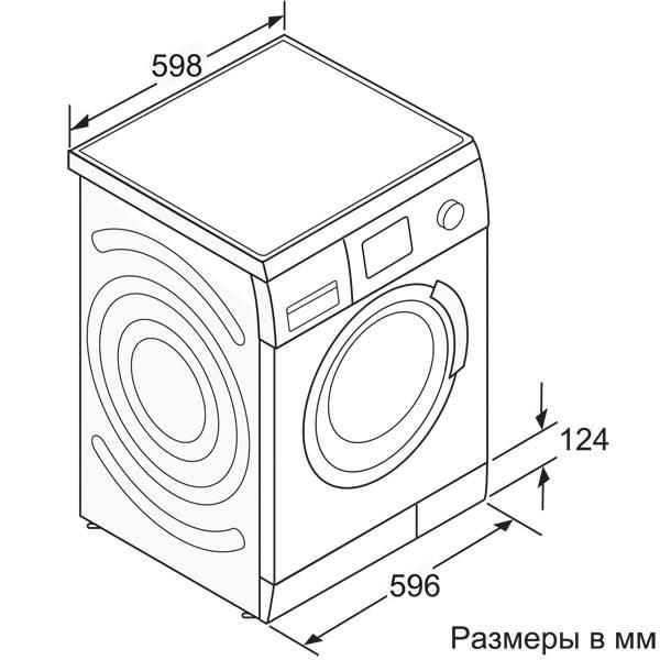 Габариты стиральной машины в упаковке