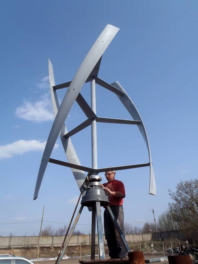 Самодельный ветрогенератор как сделать своими руками - alter220.ru