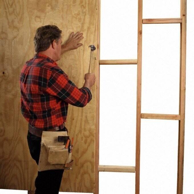 Как утеплить входную деревянную дверь - всё об отоплении и кондиционировании
