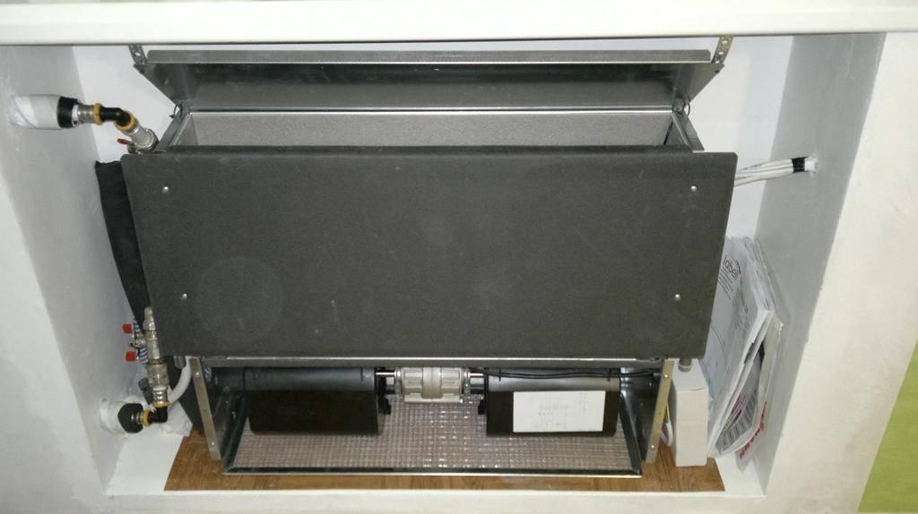 Особенности монтажа напольных и внутрипольных конвекторов отопления
